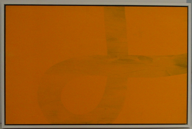 ACI.2 (Ghost), 1960, Acrylic on paper mounted on board
