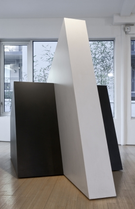 Black Minimalist sculpture