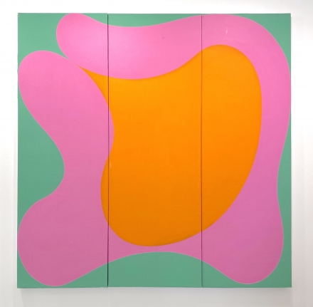 Untitled, 1964 Acrylic on canvas mounted on board