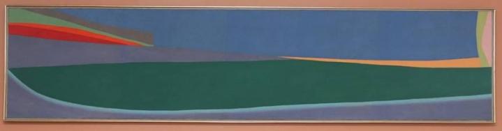 Friedel Dzubas color field equinox painting