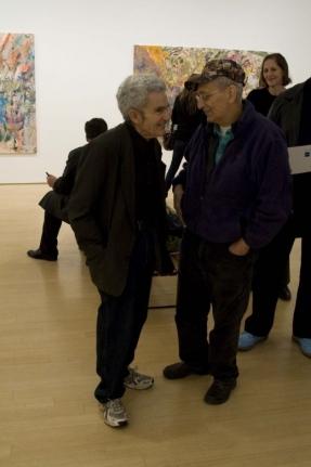 Larry Poons Frank Stella