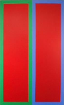 Twin Towers II, 2011, Acrylic on canvas