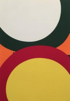 Al Held Screen print circle