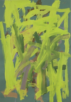 LEAH DURNER Billiard Green 1, 2011