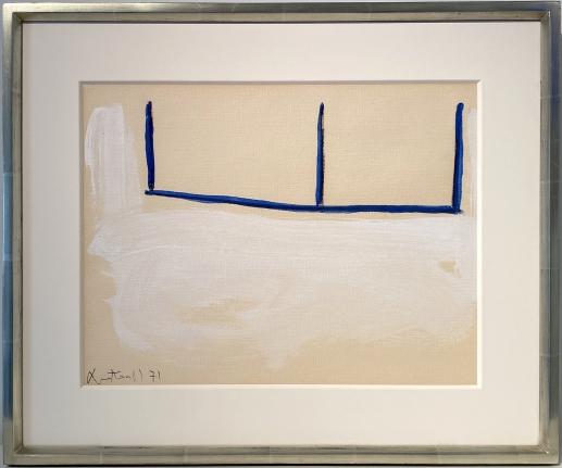 ROBERT MOTHERWELL Untitled (Open), 1971