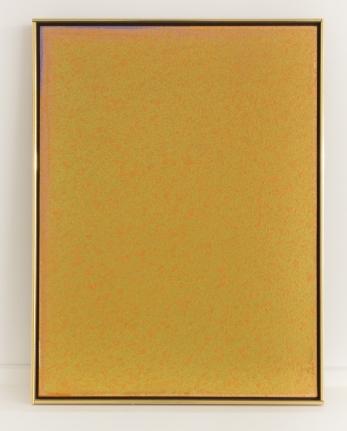 Jules Olitski yellow painting