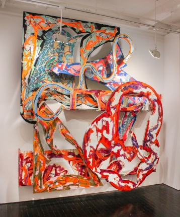 Frank Stella new sculpture