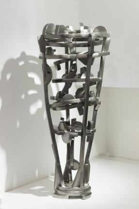 Joel Perlman Silver Glass