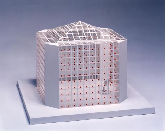 Model: Meditation Space, 1998-2002