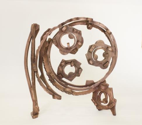copper sculpture