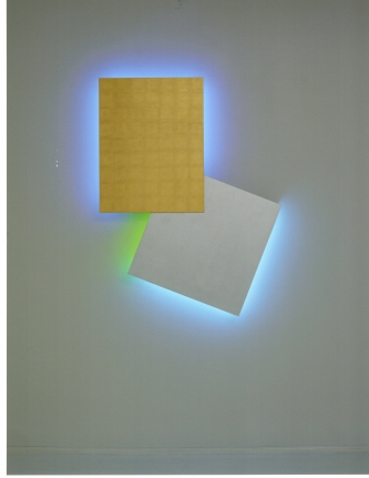 Stephen Antonakos, neon light sculpture