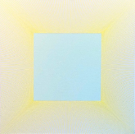 Pale Green Square, 1977 - 2018, 36 x 36 inches
