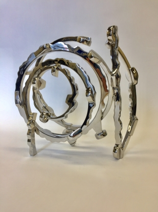 Joel Perlman large metal sculptures