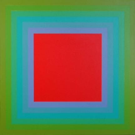 Richard Anuszkiewicz Op art rainbow