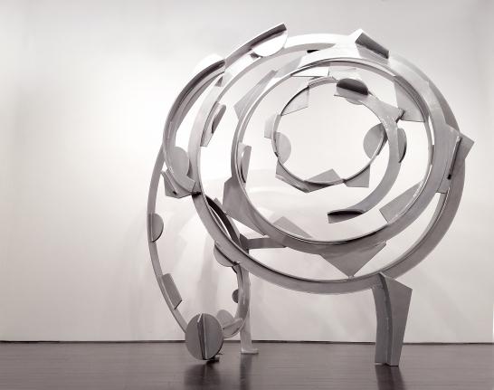 Wonder Wheel, 2015-2016, Powder coated steel