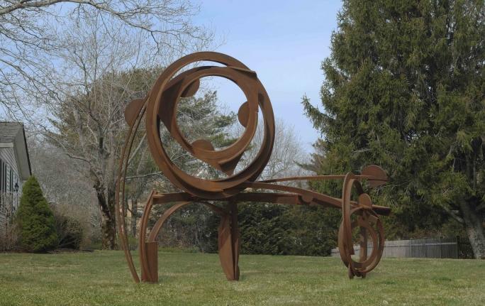 Wide Wheel, 2013, Welded Steel