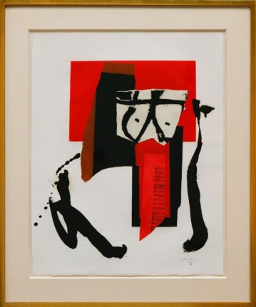 ROBERT MOTHERWELL The Red and Black No. 20, 1987 - 1988