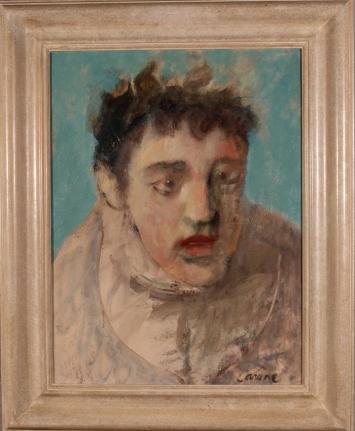 Nicolas Carone Portrait phillip guston