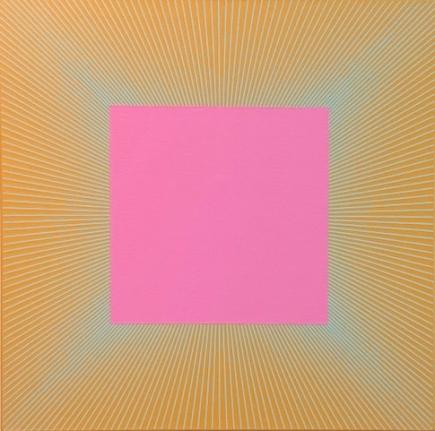 Twilight Magenta Square, 1977 - 2017, Acrylic on canvas