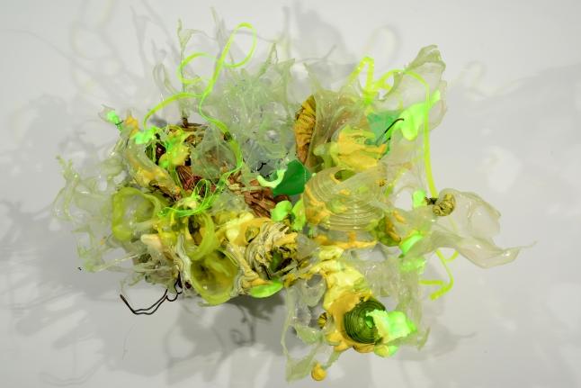 neon colorful sculpture