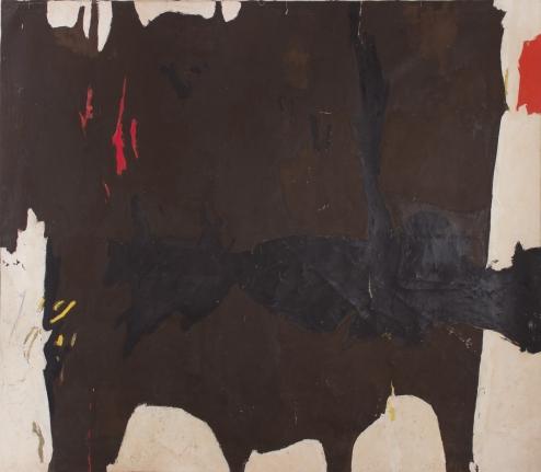 1961-B, 1961, Oil on canvas
