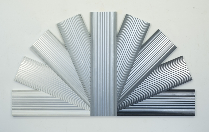 Silver Rainbow with Grays, 1989