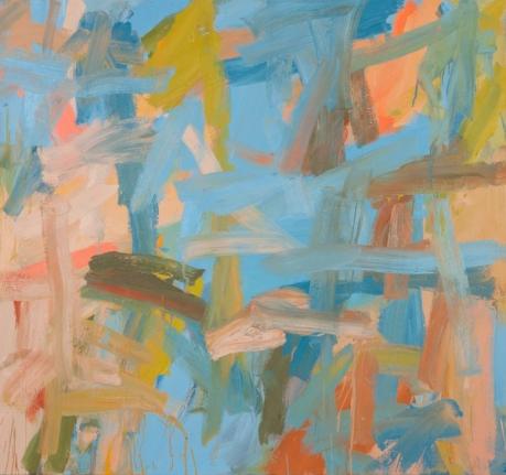 LEAH DURNER Blue to beige, 2000