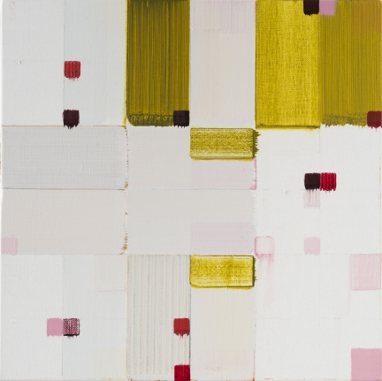 Roberto Caracciolo geometric abstractionism yellow square