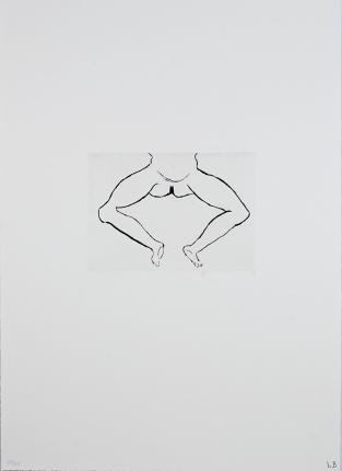 Untitled (Artist's 1993 title: Hanging Figure)