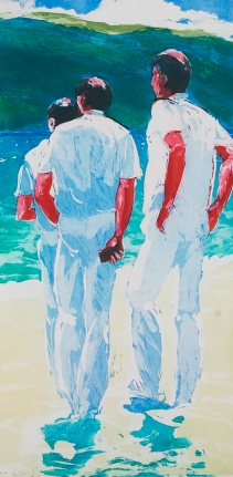 Untitled (Three Men Standing) from: Year of the Drowned Dog