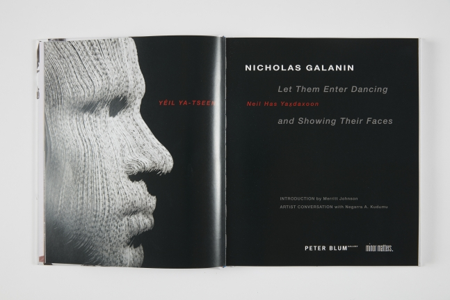 Nicholas Galanin, Let Them Enter Dancing and Showing Their Faces, 2020
