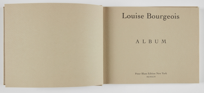 Louise Bourgeois, Album, 1994