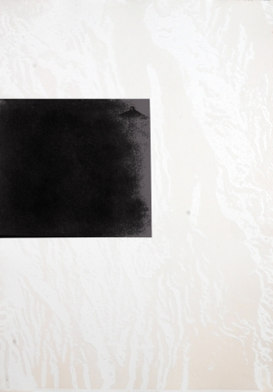 Untitled (Rooftop in Fog and Rooftops) from: White Carrot