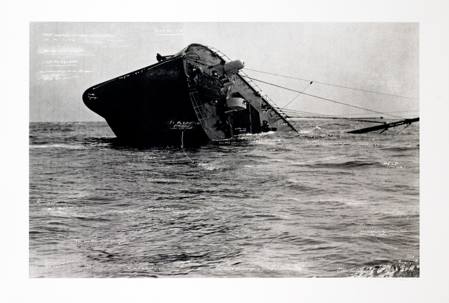 Sinking of the SS Plympton from: The Russian Ending