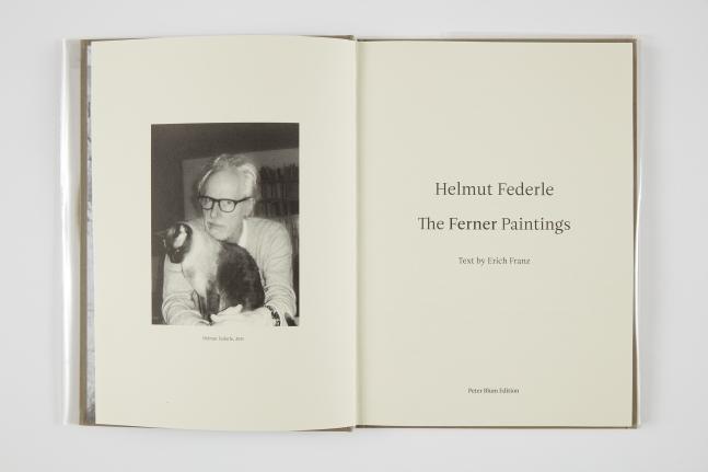 Helmut Federle,The Ferner Paintings, 2013
