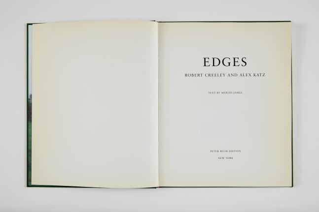 Alex Katz and Robert Creeley, Edges, 1999