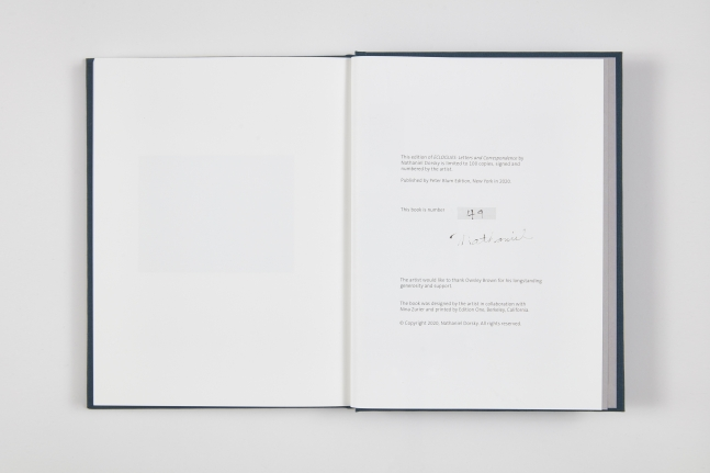 Nathaniel Dorsky,ECLOGUES: Letters and Correspondence,2020