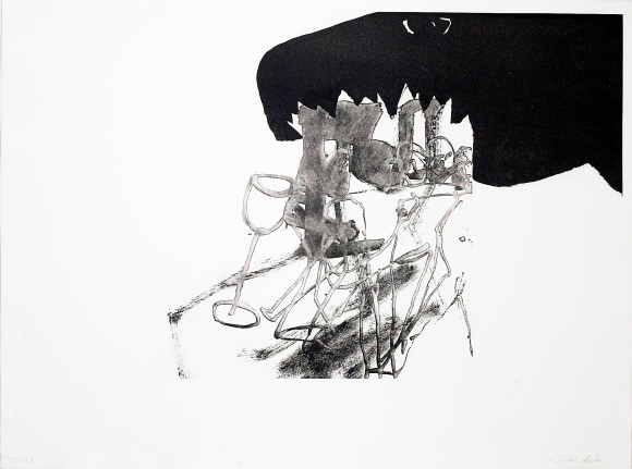 Untitled [8] from: Endless Modern Licking of Crashing Globe by Black Doggie Time-Bomb