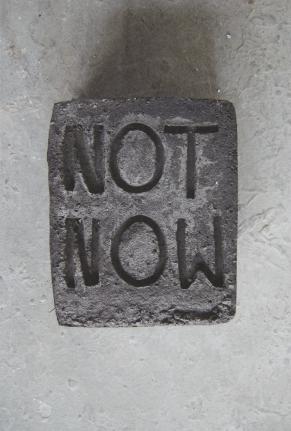 Esther Kläs,Not Now, 2014,