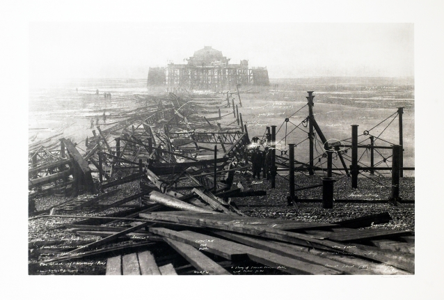 Wreck of Worthing Pier from: The Russian Ending