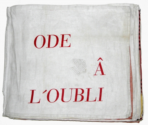 [Cover, 1] from: Ode à l'Oubli