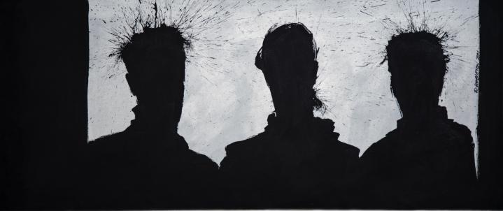 Richard Hambleton Three Shadow Heads, 2001