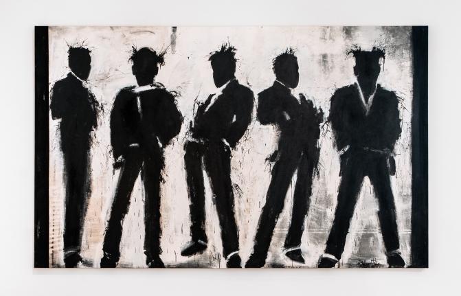 Richard Hambleton Five Shadow Figures, 2003