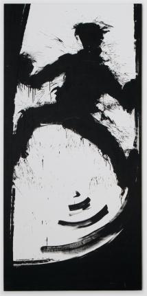 Richard Hambleton Black Shadow Climbing Wall, 1999