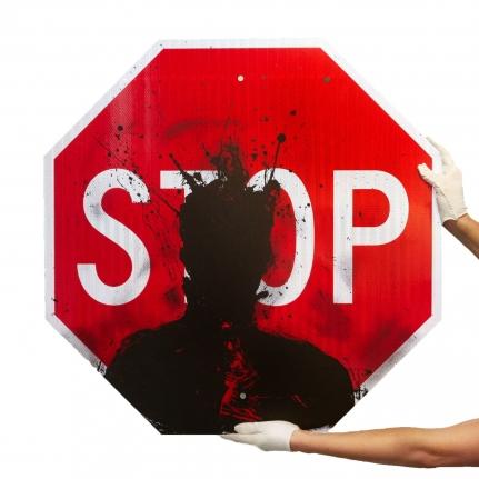 RichardHambleton Stop Sign, 2019