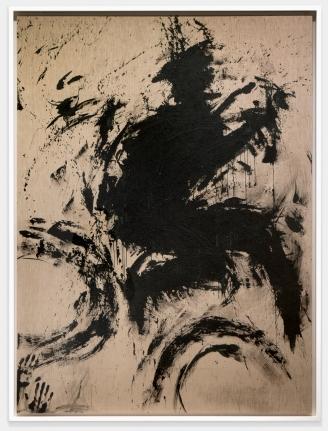 Richard Hambleton Untitled (Jumping Shadowman), Circa 1983