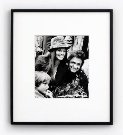 Ron Galella Johnny Cash & June Carter, 1976