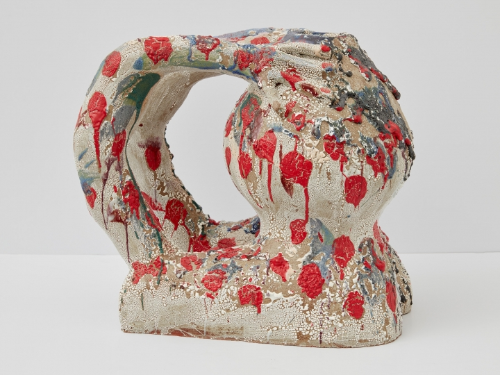 a ceramic sculpture by william j. o'brien available for sale at marianne boesky gallery