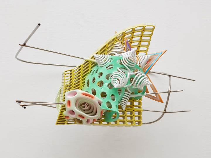 frank stella 3-d printed sculpture for sale at marianne boesky gallery