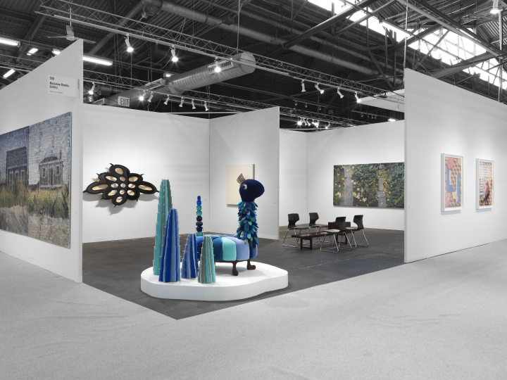 Haas Brothers sculpture on view at Armory Show art fair